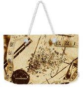 In Fashion Of Vintage Sewing Weekender Tote Bag