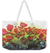 Fields Of Poppies Weekender Tote Bag