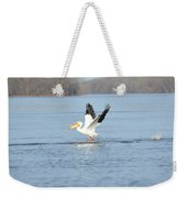 In Flight Weekender Tote Bag