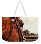In French Chevel Weekender Tote Bag