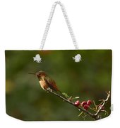 In Line With The Branch I Weekender Tote Bag