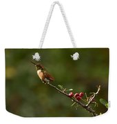 In Line With The Branch Weekender Tote Bag