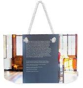 In London Museums 14 Weekender Tote Bag