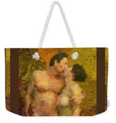 In Love Weekender Tote Bag by Kurt Van Wagner