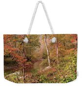 In Love With Autumn Weekender Tote Bag