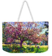 In Love With Spring, Blossom Trees Weekender Tote Bag