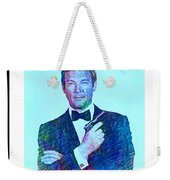 In Memory Of Roger Moore Weekender Tote Bag