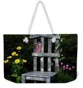 In My Garden Weekender Tote Bag