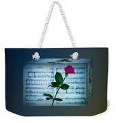 In My Life Cubed Weekender Tote Bag by Bill Cannon