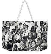 In Praise Of Jazz IIi Weekender Tote Bag