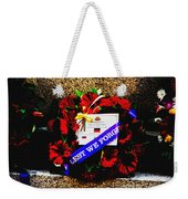 In Remembrance 5th Battalion Weekender Tote Bag
