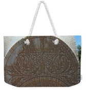 In Stone Cross And Crown Virginia City Nv Weekender Tote Bag