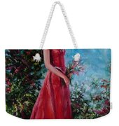 In Summer Garden Weekender Tote Bag