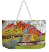 In The Autumn Light Weekender Tote Bag