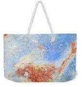 In The Beginning Weekender Tote Bag by Deborah Boyd