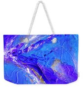 In The Blue Deep Weekender Tote Bag