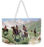 In The Cheyenne Country Weekender Tote Bag by John Hauser