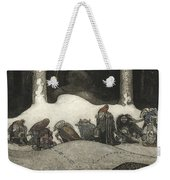 In The Christmas Night  Weekender Tote Bag