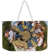 In The Circle Weekender Tote Bag