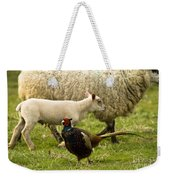 In The Countryside Weekender Tote Bag