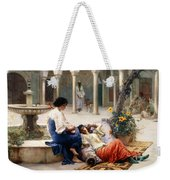 In The Courtyard Of The Harem Weekender Tote Bag