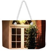 In The Courtyard Weekender Tote Bag