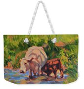 In The Creek Weekender Tote Bag