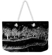 In The Dark Of The Night Weekender Tote Bag