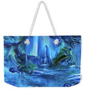 In The Eyes Of Aurora Weekender Tote Bag