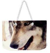 In The Eyes Of The Wolves Weekender Tote Bag