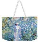 In The Flower Garden 1900 Weekender Tote Bag