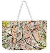 In The Forest Art Series - Tree Bark Patterns 1  Weekender Tote Bag