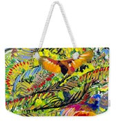 Birds In The Forest Weekender Tote Bag