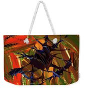 In The Forward Mind Abstract Weekender Tote Bag