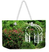 In The Garden Weekender Tote Bag by Carolyn Marshall