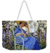 In The Garden Weekender Tote Bag by Frederick Carl Frieseke