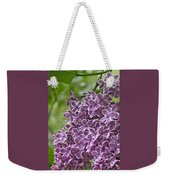 In The Garden. Lilac Weekender Tote Bag