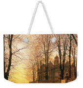 In The Golden Olden Time Weekender Tote Bag by John Atkinson Grimshaw