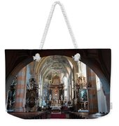 In The Gothic-baroque Church Weekender Tote Bag