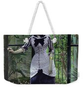 In The Greenhouse Weekender Tote Bag by Albert Bartholome