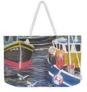 In The Harbour Weekender Tote Bag