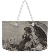 In The Harvest Field, Guardians Of The Luncheon Basket Weekender Tote Bag