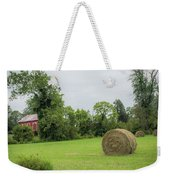 In The Hayfield  Weekender Tote Bag