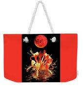 In The Heat Of The Night 2 Honeysuckle Red Moon Weekender Tote Bag
