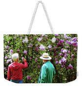 In The Lilac Garden Weekender Tote Bag