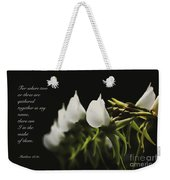 In The Midst Weekender Tote Bag