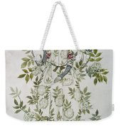 In The Midst Of A Tree Sat A Kindly Looking Old Woman' Weekender Tote Bag