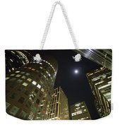 In The Midst Of The City Weekender Tote Bag