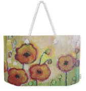Poppies At Dusk Weekender Tote Bag