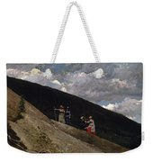 In The Mountains Weekender Tote Bag
